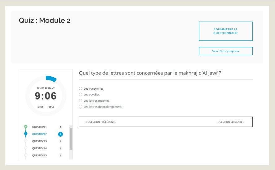Des quiz pour tester vos connaissances en tajwid